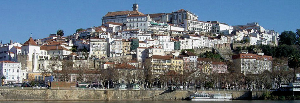 The university city of Coimbra